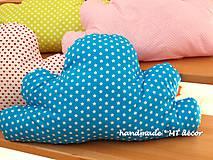 Úžitkový textil - Vankúšik - obláčik Mráčik - 4935892_