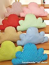 Úžitkový textil - Vankúšik - obláčik Mráčik - 4935894_
