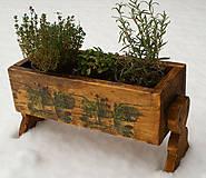 Nádoby - Kvetináč - bylinkovník - 4935792_