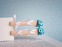 Papiernictvo - Záložka kniho-nôžka - 4937869_