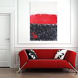 Obrazy - Obraz akrylová maľba 80x100cm plátno originál VYKÚPENIE - 4935971_