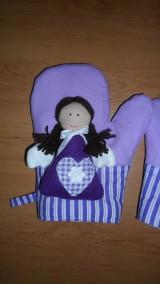 Úžitkový textil - anjelské chňapky  - 4942144_