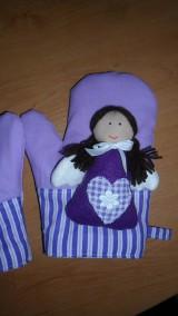 Úžitkový textil - anjelské chňapky  - 4942145_