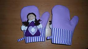 Úžitkový textil - anjelské chňapky  - 4942148_