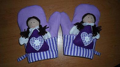 Úžitkový textil - anjelské chňapky - 4942143_