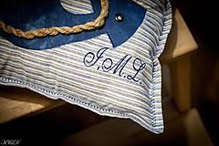 """Úžitkový textil - Vankúšik """"Nautical style"""" - 4947421_"""