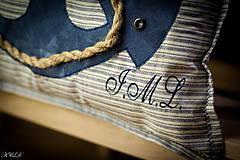 """Úžitkový textil - Vankúšik """"Nautical style"""" - 4947430_"""