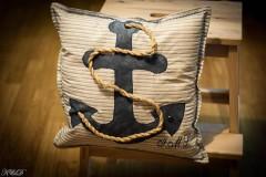 """Úžitkový textil - Vankúšik """"Nautical style"""" - 4947436_"""