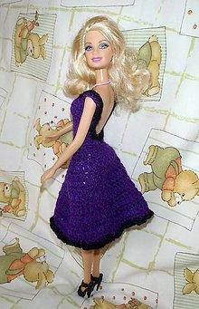 Hračky - Fialové šatočky pre Barbie - 4946519_