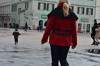 Kabáty - Červená. - 4943407_