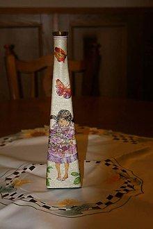 Dekorácie - Váza - dievčatko - 4946261_