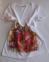 Tričká - Gladioly na tričku - 4943712_