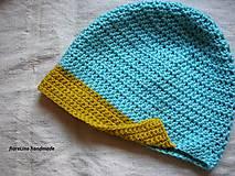 Detské čiapky - jarná čiapka - 4943843_