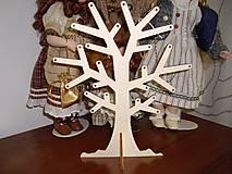 Dekorácie - Stojan na náušnice - strom - 4947350_