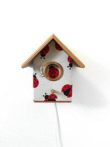 Detské doplnky - Svietidlo ŽIŽA búdka 547 - 4943289_