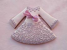 Dekorácie - Medovníkové šaty - 4949468_