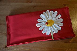 Textil - rukávnik s margarétkou - 4951408_