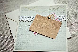 Papiernictvo - Vintage #1 VÝPREDAJ! - 4948742_