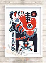 Grafika - Švédsky koník - 4950126_