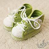 Topánočky - Mimi tenisky zelené - 4949107_