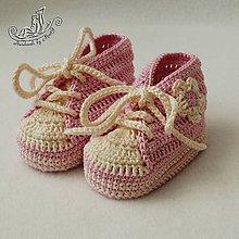Topánočky - Mimi tenisky ružové - 4949125_