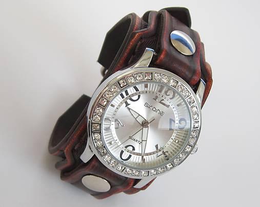 5411e2e41 Dámske hodinky kožené hnedé / leon - SAShE.sk - Handmade Náramky
