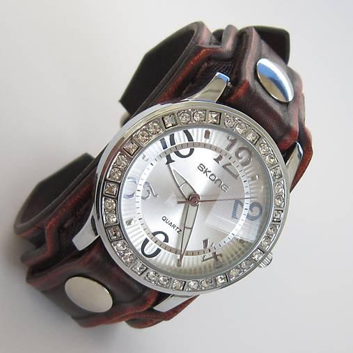 9aa593397 Dámske hodinky kožené hnedé / leon - SAShE.sk - Handmade Náramky