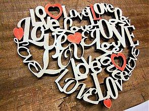 Tabuľky - srdiečko  Love - 4954545_