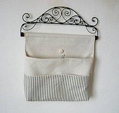 Úžitkový textil - Organizér pásik - 4953190_