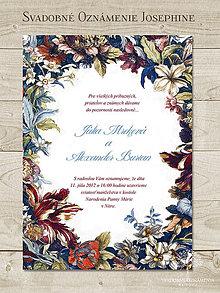 Papiernictvo - Svadobné oznámenie Josephine - 4955474_