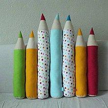 Úžitkový textil - Ceruzky - vankúše rôzne - 4955637_