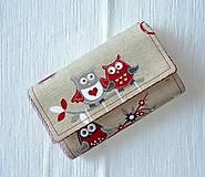 Peňaženky - Peňaženka - Sovičky 2 - 4955460_