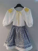 f1c705d18fe2 Detské oblečenie - Modrotlačová sukňa detská - 4952370