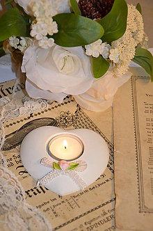 Svietidlá a sviečky - Svadobný svietnik II. - 4959209_
