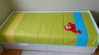 Úžitkový textil - Prehoz/prikrývka Príšerka - 4957155_