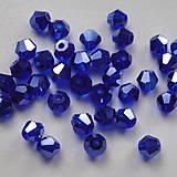- Skl.bicone 4mm-tm.modrá-1ks - 4959366_