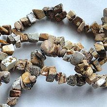 Minerály - Jaspis pieskový-zlomky-návlek 10cm - 4957131_