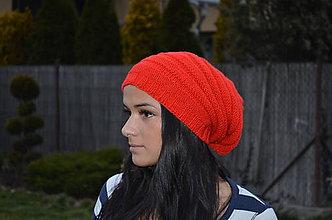 Čiapky - Pletená čiapka - 4958570_