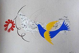 Kresby - Vajnorské kaligrafie 12 - 4957888_