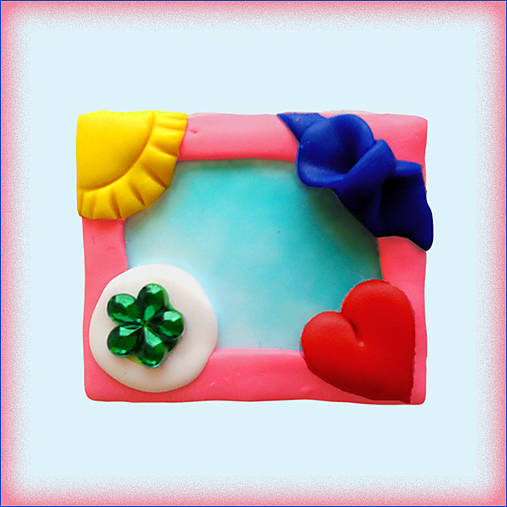 (aj) Valentínska magnetka - Pestrá