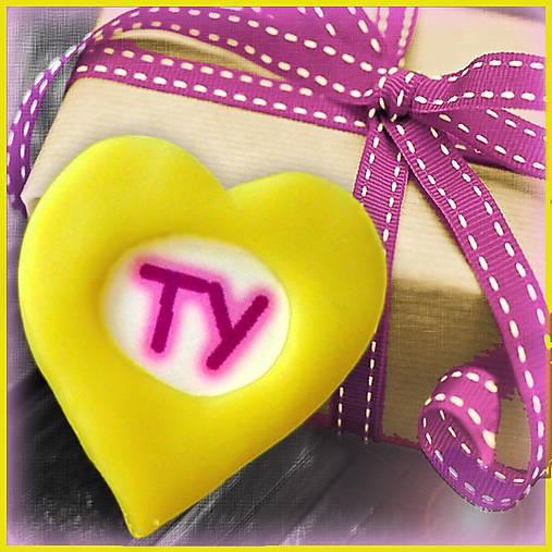 Valentínska magnetka - srdce - TY