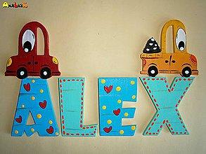 Dekorácie - Nápis - Alex - 4962637_