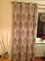 Úžitkový textil - Závesy - Rustical - - 4966454_