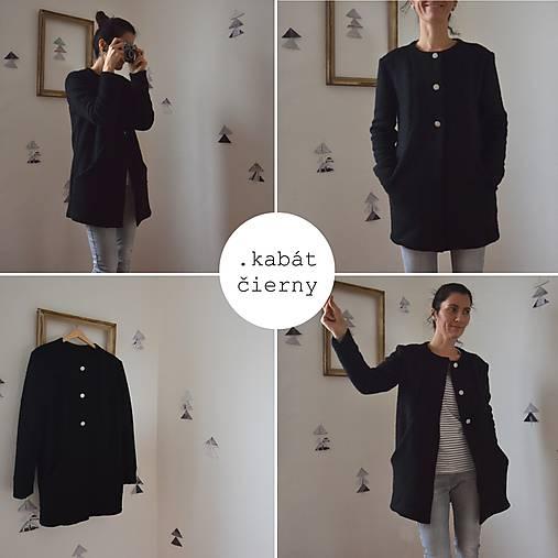 čierny kabát .VýPReDAj   .mara.bara - SAShE.sk - Handmade Kabáty b829d10ad57