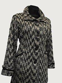 Kabáty - kabát melírovaný - 4966950_