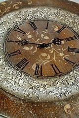 Hodiny - Drevo a kameň/hodiny - 4965432_