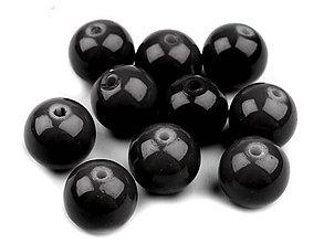 Korálky - Voskované perličky 8 mm, 20 ks - 4965843_