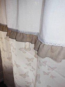 Úžitkový textil - Ľanové závesy Lyssandra - 4965352_