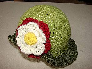 Detské čiapky - AKCIA !!! (Bordová) - 4970536_