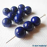 Minerály - lapis lazuli, 10 mm - 4969717_